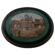 Micro Mosaic Brooch..