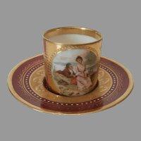 Miniatures China Cup and Saucer..