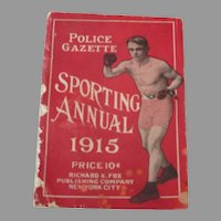 Police Gazette Sporting Annual 1915..