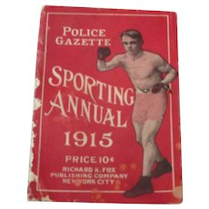 Police Gazette Sporting Annual 1915..