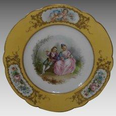Mid 18th Century Serves Plate....