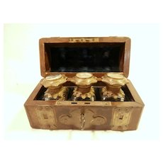 Late 19th Century Grand Tour Perfume Casket....