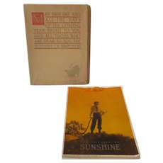 Maxfield Parrish 1917 Calendar...