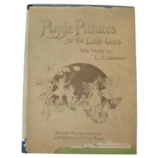 Picture Puzzle Book.. Co/1915...