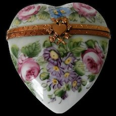 Hand Painted Limoges Box..