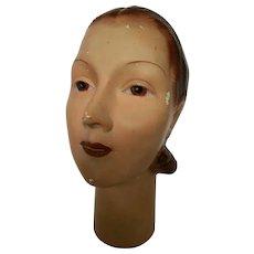 1930's Era Mannequin Head...