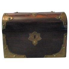 Coromandel Wood Casket..
