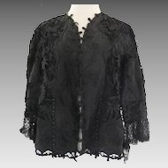 Late 19th Century Lace Jacket...