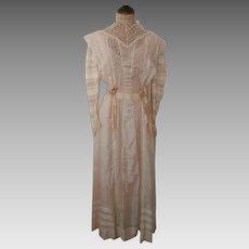 Edwardian Wedding Gown..