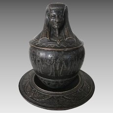 19th Century Ceramic Humidor.....
