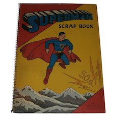1940 Superman Scrapbook....