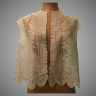 19th Century French Lace Dress..