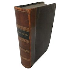 Dombey and Sons By: Charles Dickens / 1st Edition...