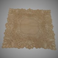 Vintage Wedding Handkerchief..