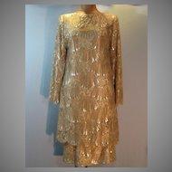 Couture Mollie Parnis Lace Dress.....