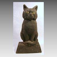 Cast Iron Cat Doorstop...