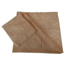 Alencon Lace Tablecloths..