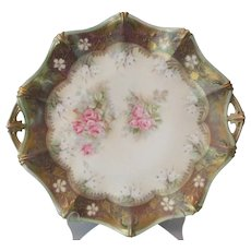 R S Prussia Cake Plate..