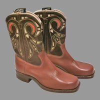 1950'S Child's Western Boots...(Old Store Stock)..