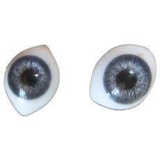 Antique eyes blue jumeau