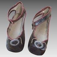 Antique original shoes bru