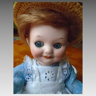 Antique doll googly
