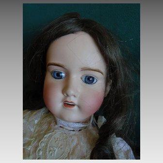 "24""Antique doll limoge la georgienne"