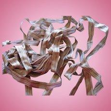 Antique ribbon silk