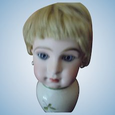 ANCIENT blonde mohair wig