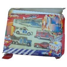 Old police car set