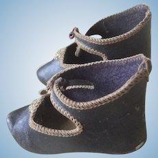 Antique shoes bebe jumeau