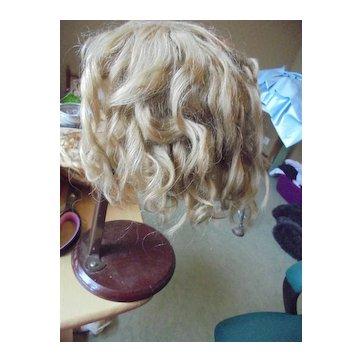 Antique wig mohair