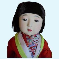 25 Antique doll ichimatsu-ningyo jpanesse