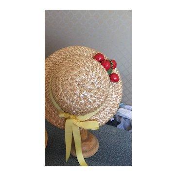 Hat ancien doll