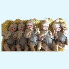 Antique  bebe hertel:schwab quintuplet