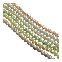 Six-Strand Faux Pearl Bracelet by Joan Rivers