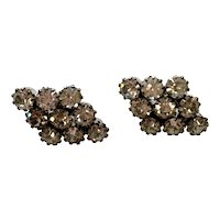 Vintage Rhinestone After-Five Earrings – Pierced Ears