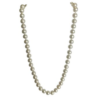 Lovely Vintage Faux Pearl Necklace