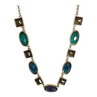 Trifari Necklace - Earth Tones – Adjustable Length