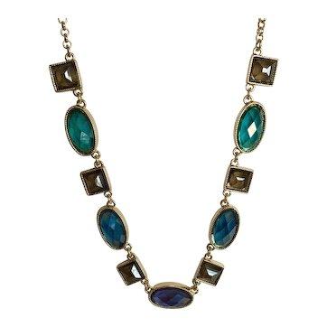 Trifari Necklace - Earth Tones – Adjustable Length