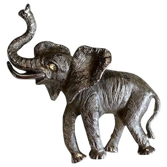 Vintage Elephant Pin by Napier