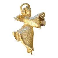 Vintage Angel Pendant