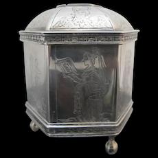MMA Metropolitan Museum of Art STERLING Silver Dutch WEDDING Trinket BOX