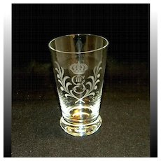 King Gustav III Crystal Tumbler Set, 6 Pieces