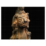 Mayan God Figurine