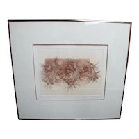 Signed Limited Ed Guillaume Azoulay Graphic Sketch Art HORSE Print STEPPING OUT