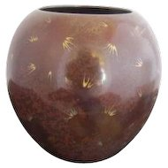 WMF Ikora Germany Art Deco Dinaderie Chinoiserie Style Vase Paul Haustein School