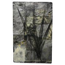 Original MODERN Abstract Painting DAVID GEISER Expressionist New York MOODY