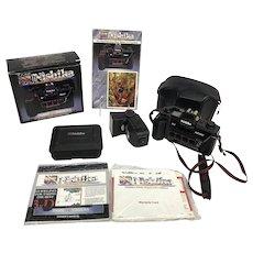 Vintage NISHIKA N8000 3D Camera w/Twin 3100 Flash, Box, CKit Rare Pamphlet More