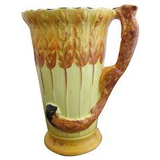 BURLEIGH Ware Vintage Art Deco Bright Animal SQUIRREL Pitcher Jug Vase 5124